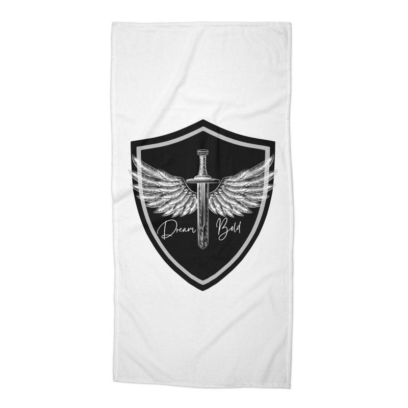 Bold Shield Accessories Beach Towel by Dream BOLD Network Shop