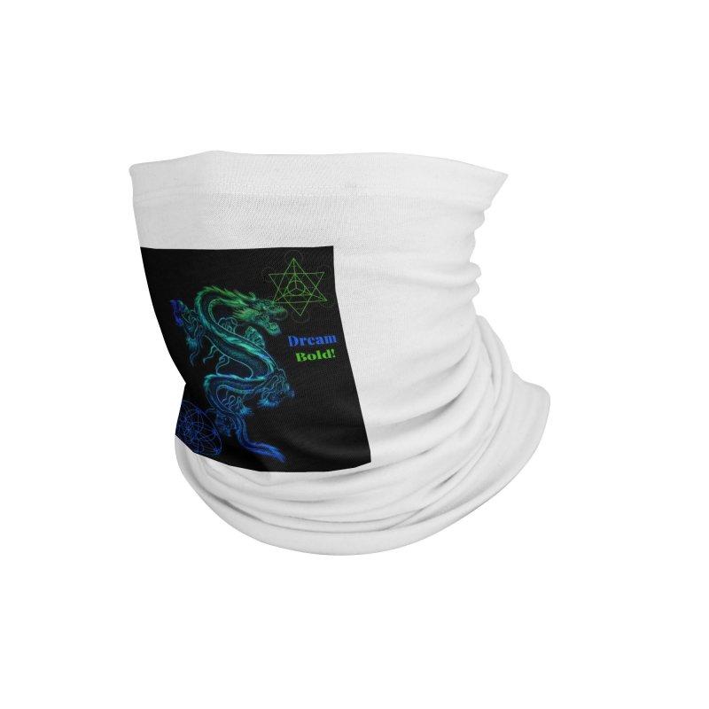 Dream Bold Dragon Accessories Neck Gaiter by Dream BOLD Network Shop