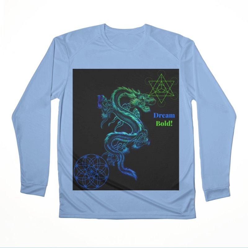 Dream Bold Dragon Men's Longsleeve T-Shirt by Dream BOLD Network Shop