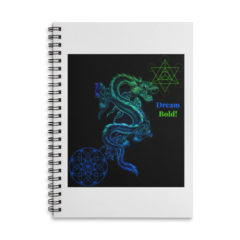 Dream Bold Dragon Accessories Notebook by Dream BOLD Network Shop