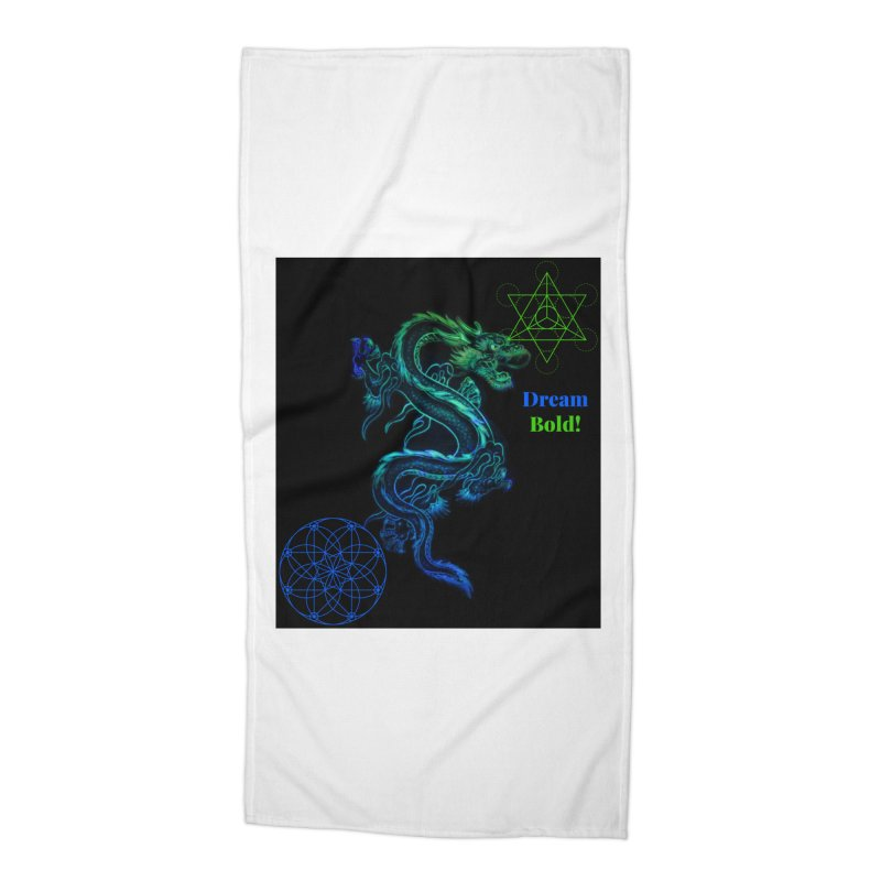 Dream Bold Dragon Accessories Beach Towel by Dream BOLD Network Shop