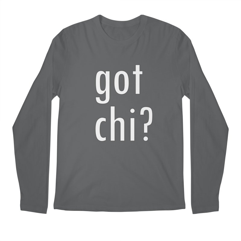 got chi? Men's Regular Longsleeve T-Shirt by Dream BOLD Network Shop
