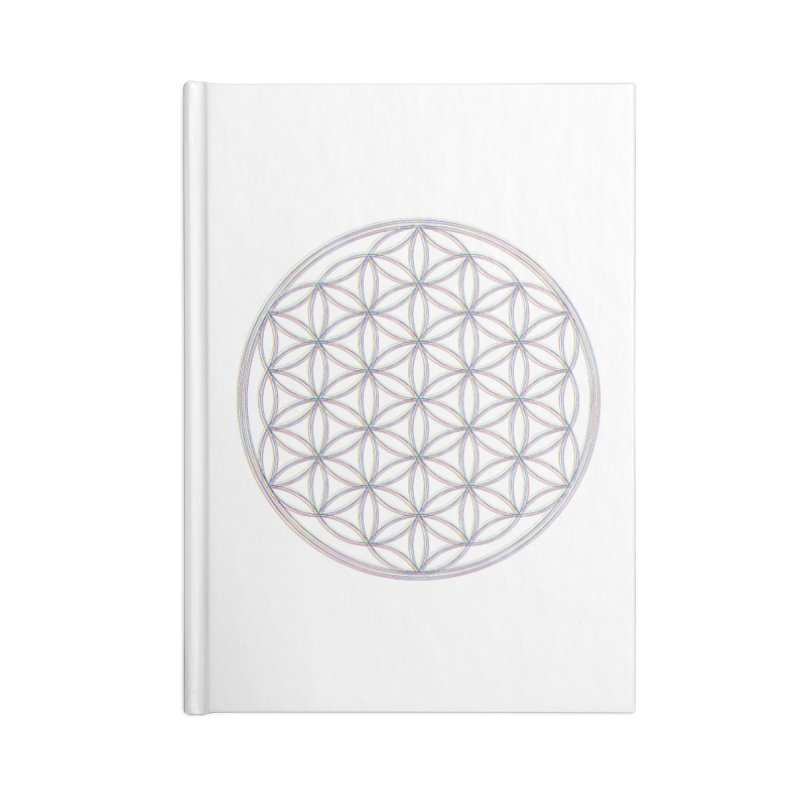 Flower of Life Accessories Blank Journal Notebook by Dream BOLD Network Shop
