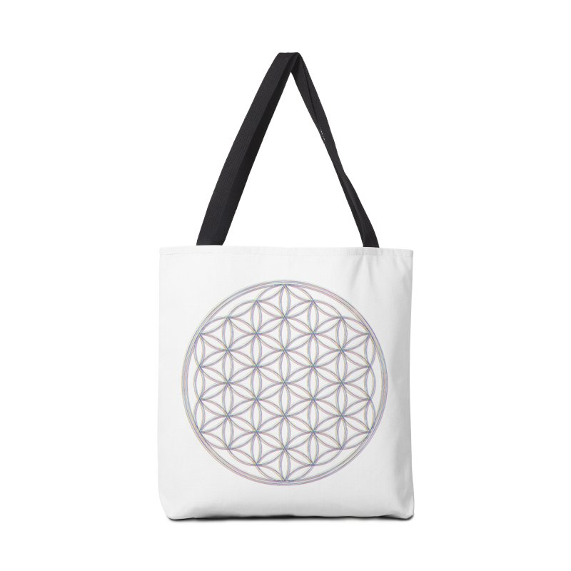 Flower of Life Accessories Tote Bag Bag by Dream BOLD Network Shop