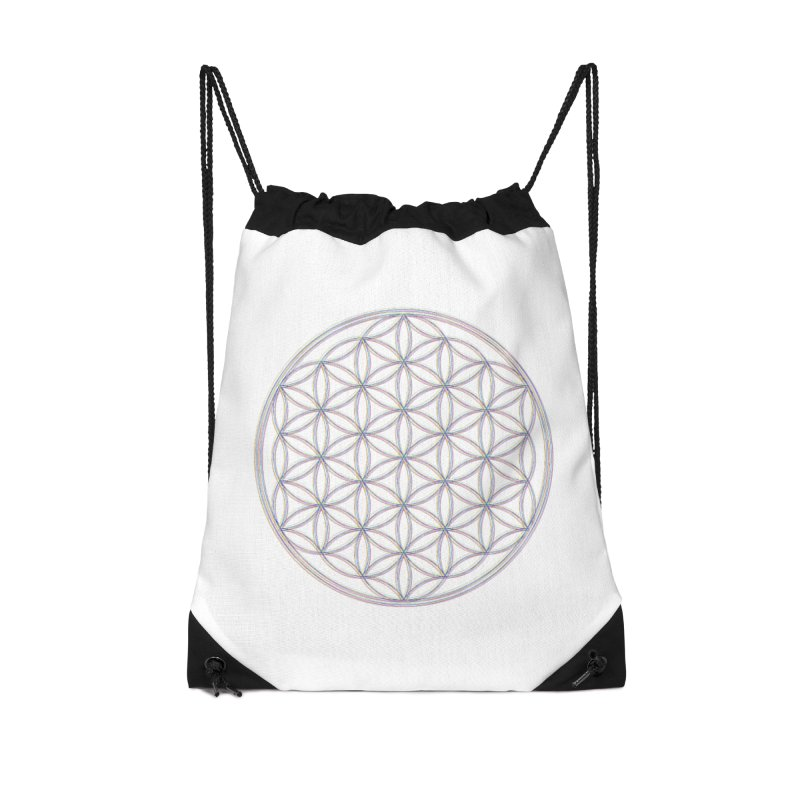 Flower of Life Accessories Bag by Dream BOLD Network Shop
