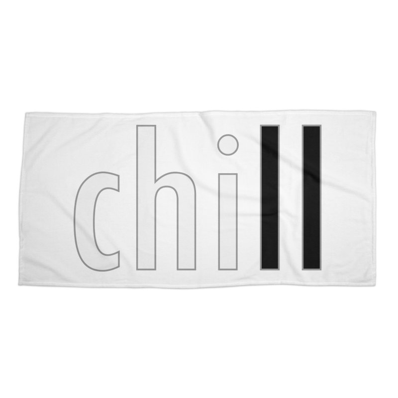 CHILL Accessories Beach Towel by Dream BOLD Network Shop