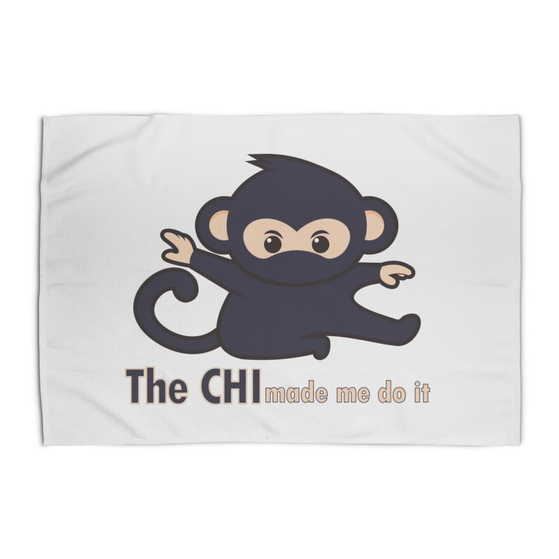 The CHI made me do it Home Rug by Dream BOLD Network Shop