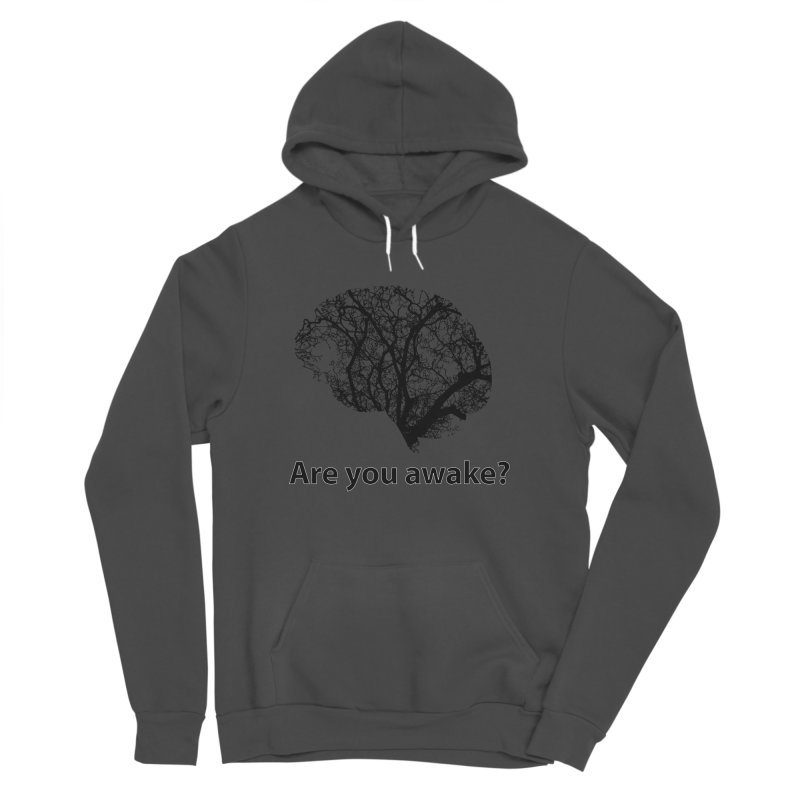 Are You Awake? Women's Sponge Fleece Pullover Hoody by Dream BOLD Network Shop