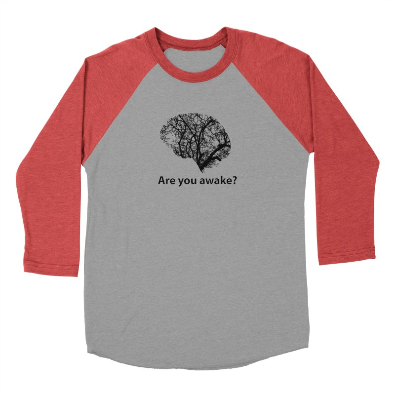 Are You Awake? Men's Longsleeve T-Shirt by Dream BOLD Network Shop
