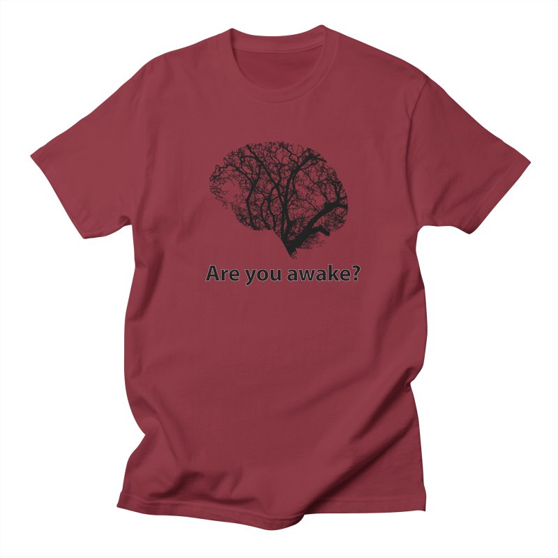 Are You Awake? Men's T-Shirt by Dream BOLD Network Shop