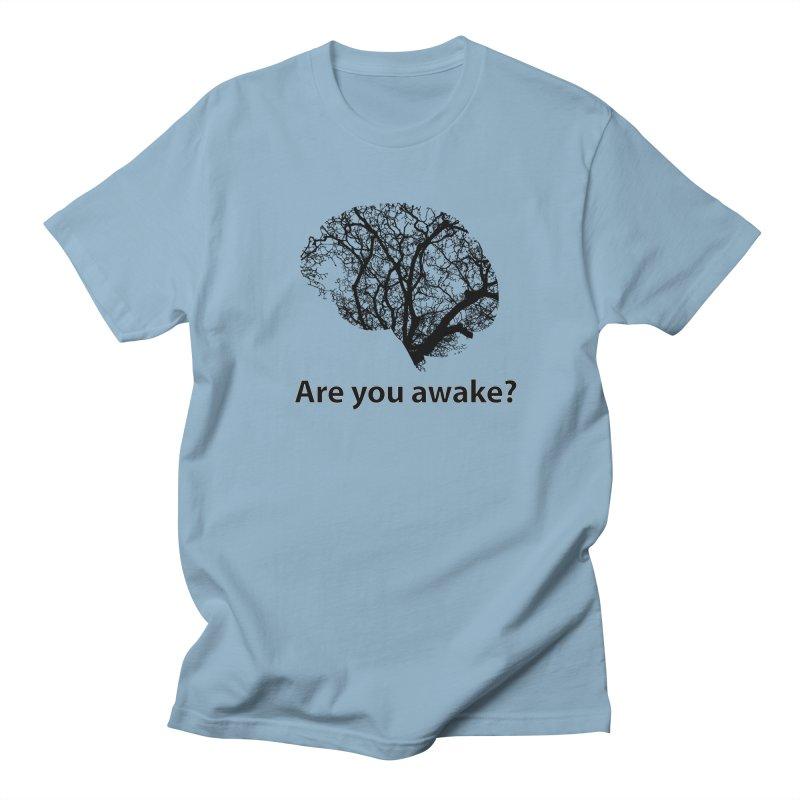Are You Awake? Men's Regular T-Shirt by Dream BOLD Network Shop