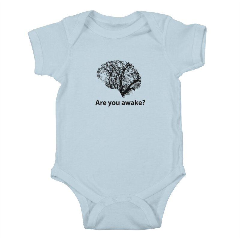 Are You Awake? Kids Baby Bodysuit by Dream BOLD Network Shop