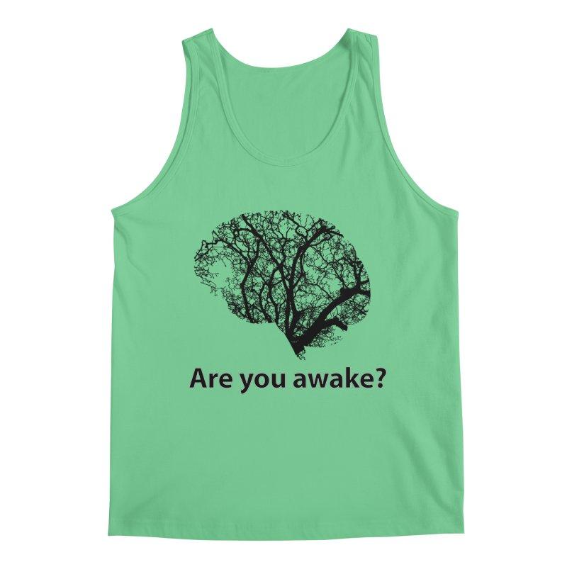 Are You Awake? Men's Regular Tank by Dream BOLD Network Shop