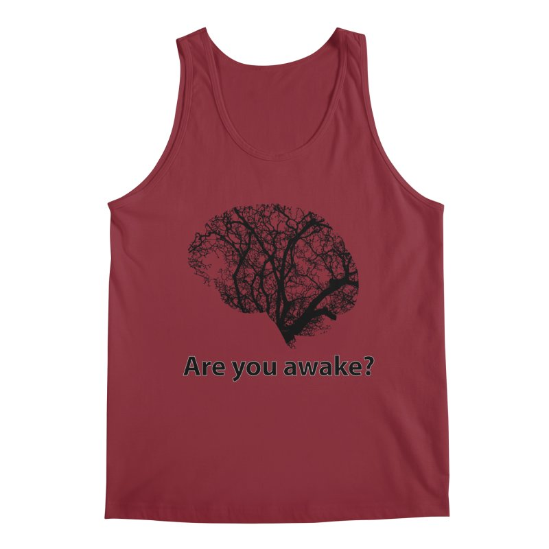 Are You Awake? Men's Regular Tank by Dream BOLD Network Shop