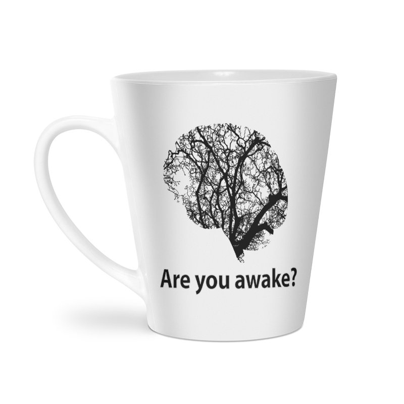 Are You Awake? Accessories Latte Mug by Dream BOLD Network Shop
