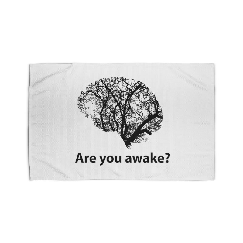 Are You Awake? Home Rug by Dream BOLD Network Shop