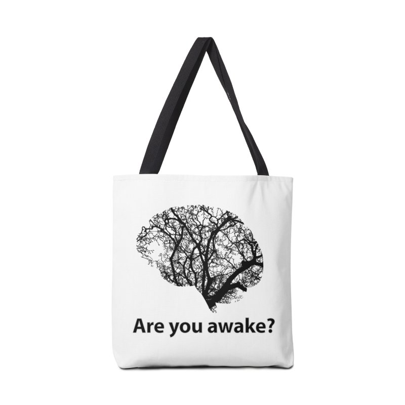 Are You Awake? Accessories Tote Bag Bag by Dream BOLD Network Shop