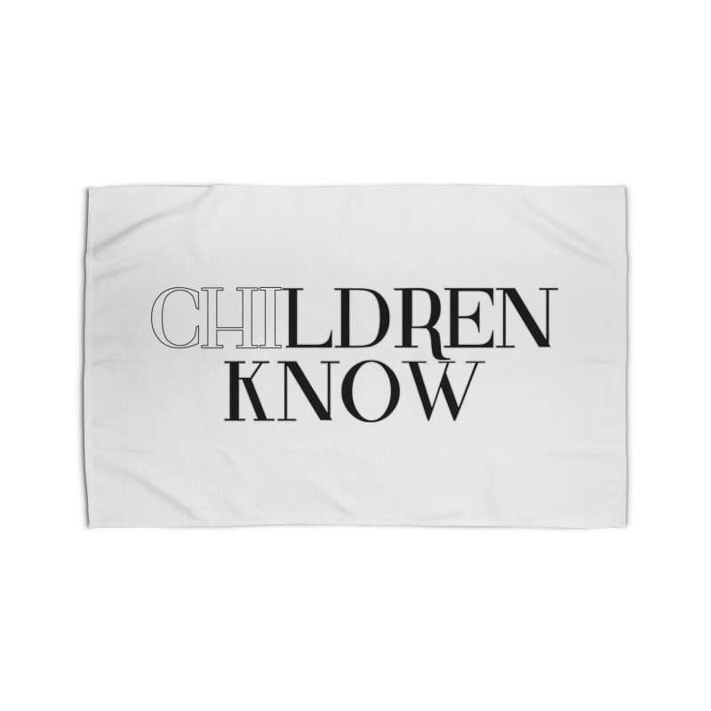 CHI-LDREN KNOW Home Rug by Dream BOLD Network Shop