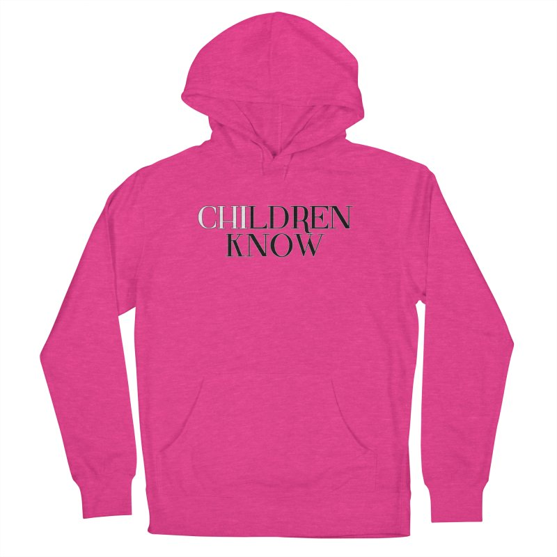 CHI-LDREN KNOW Men's French Terry Pullover Hoody by Dream BOLD Network Shop
