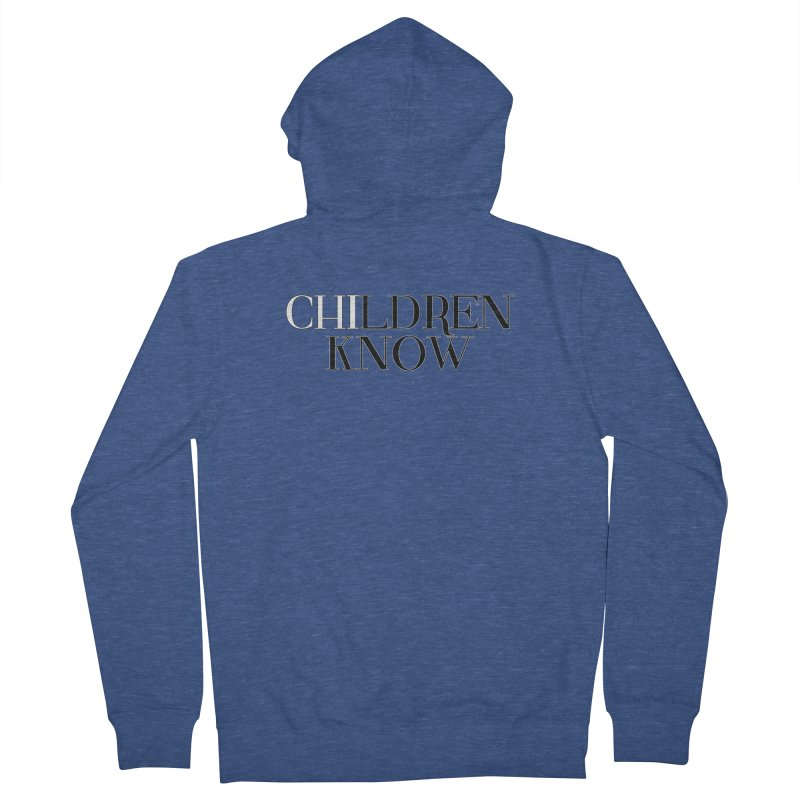 CHI-LDREN KNOW Men's French Terry Zip-Up Hoody by Dream BOLD Network Shop