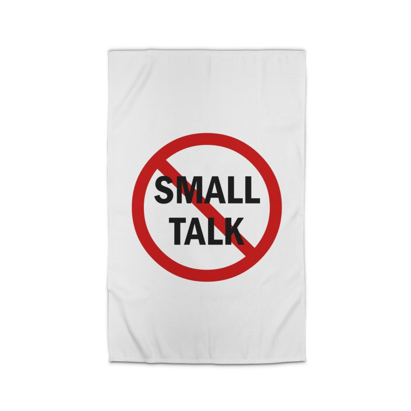 No Small Talk Home Rug by Dream BOLD Network Shop