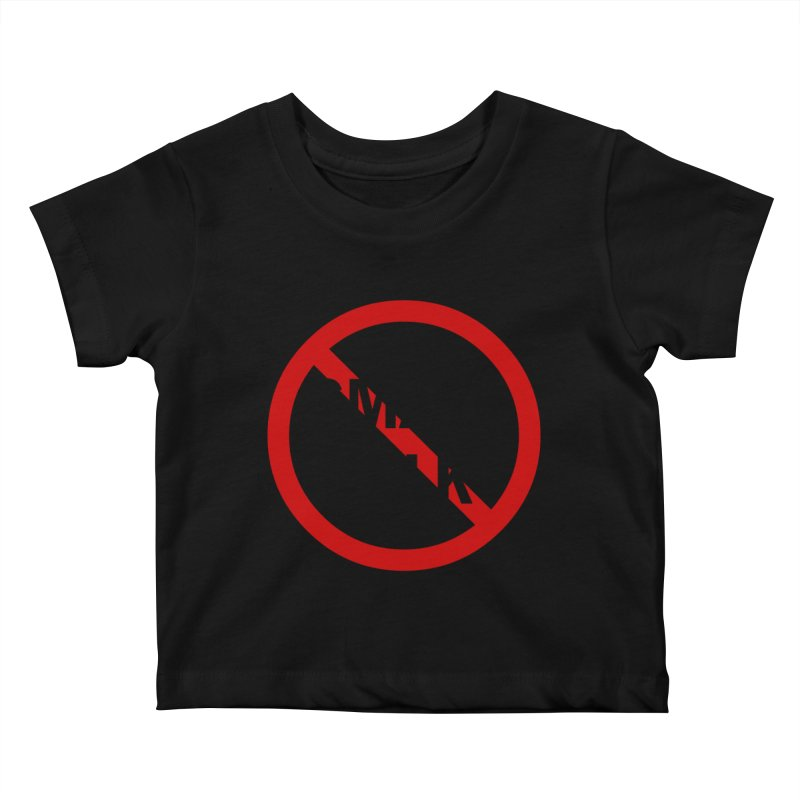 No Small Talk Kids Baby T-Shirt by Dream BOLD Network Shop
