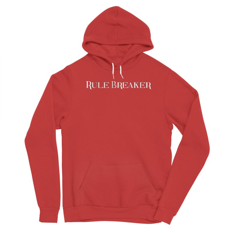 Rule Breaker White Men's Pullover Hoody by Dream BOLD Network Shop