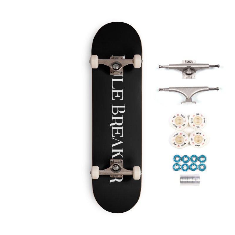 Rule Breaker White Accessories Complete - Premium Skateboard by Dream BOLD Network Shop