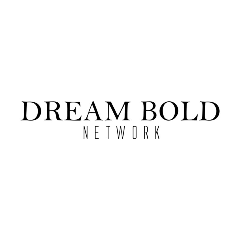 Dream Bold black Women's Pullover Hoody by Dream BOLD Network Shop