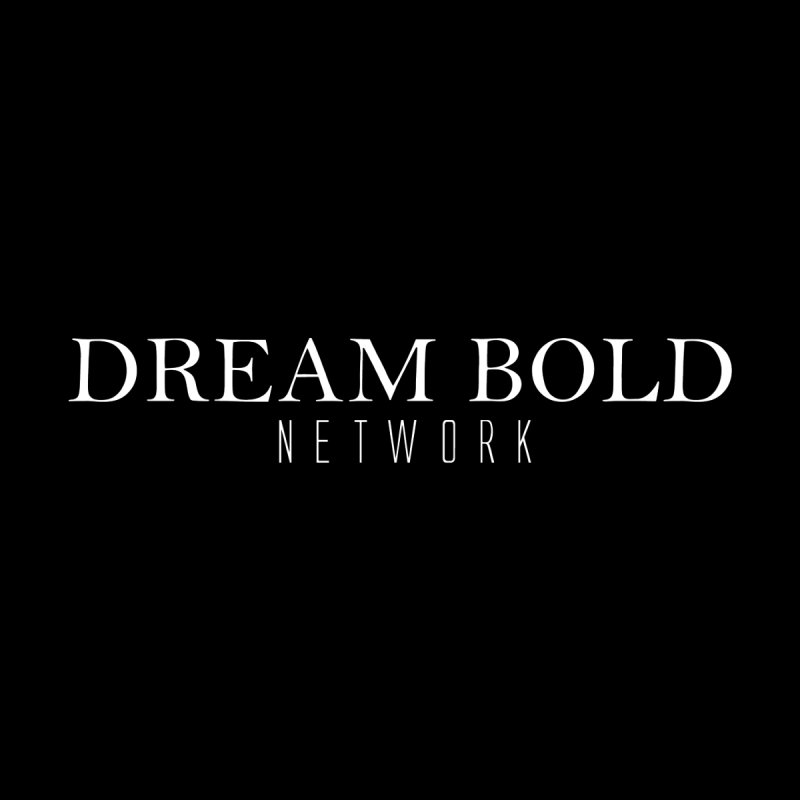 Dream Bold white Men's V-Neck by Dream BOLD Network Shop