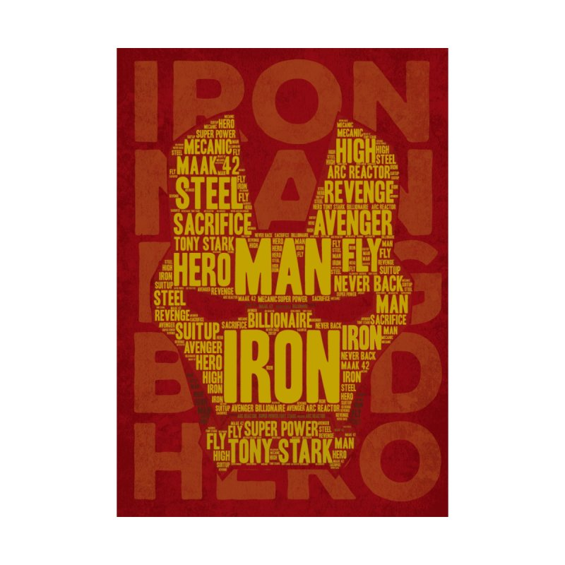 Iron Man Typo by dreamer's Artist Shop
