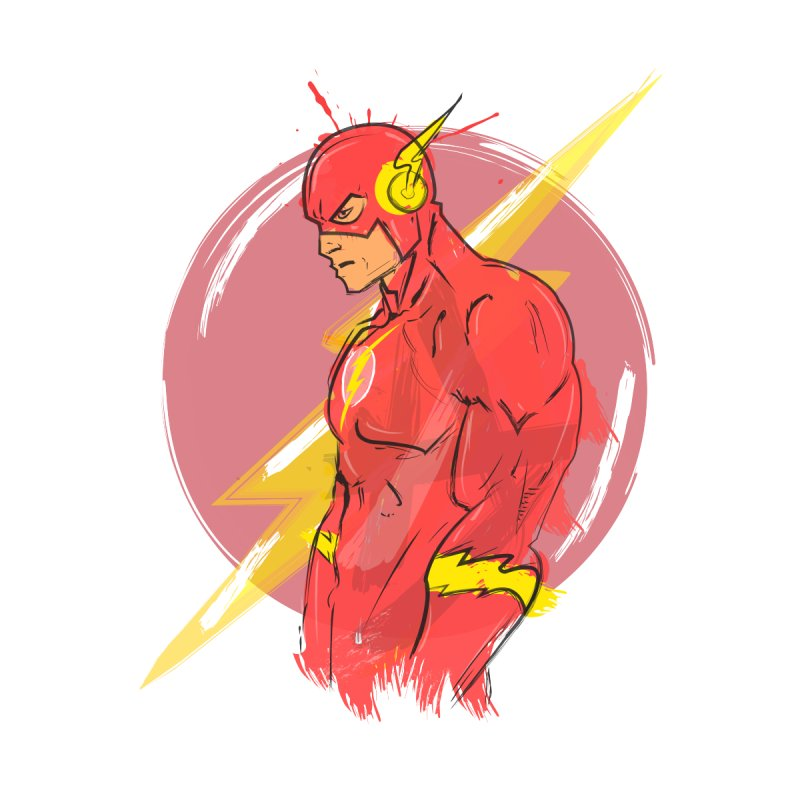 Flash is here! Kids Baby T-Shirt by dreamer's Artist Shop