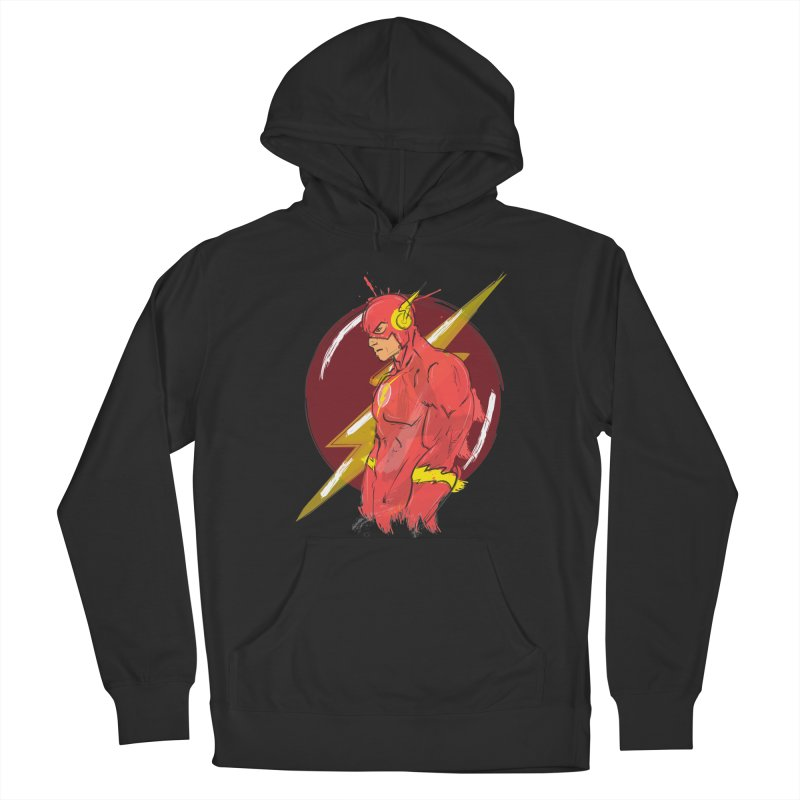 Flash is here! Men's Pullover Hoody by dreamer's Artist Shop
