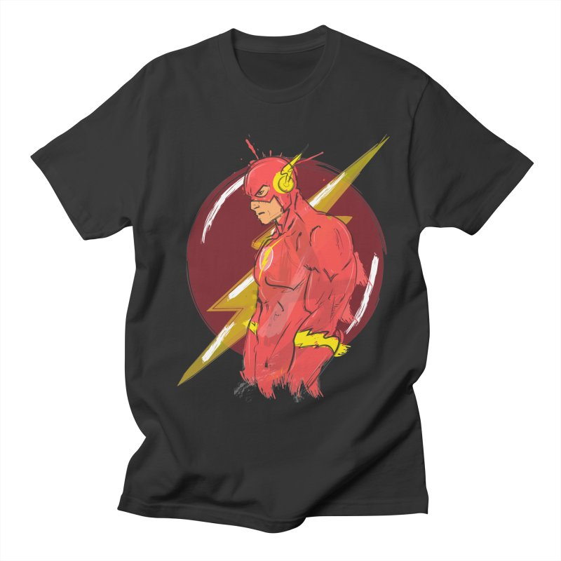 Flash is here! Men's T-Shirt by dreamer's Artist Shop