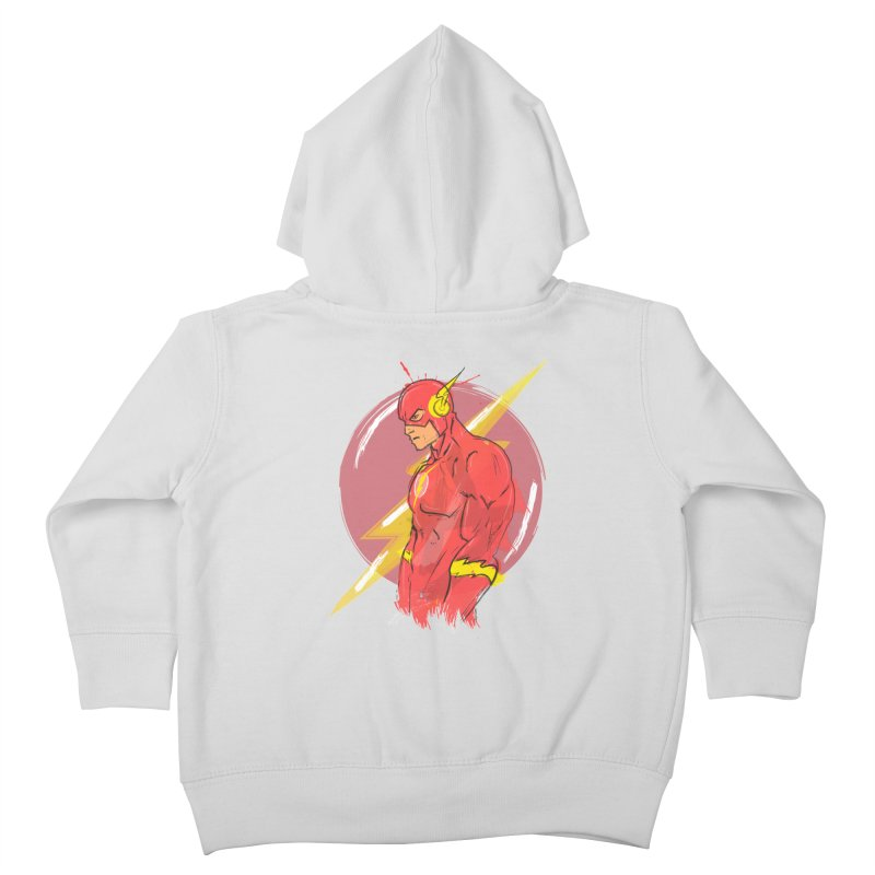 Flash is here! Kids Toddler Zip-Up Hoody by dreamer's Artist Shop