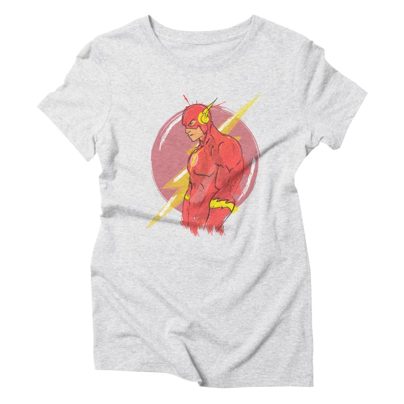 Flash is here! Women's Triblend T-shirt by dreamer's Artist Shop
