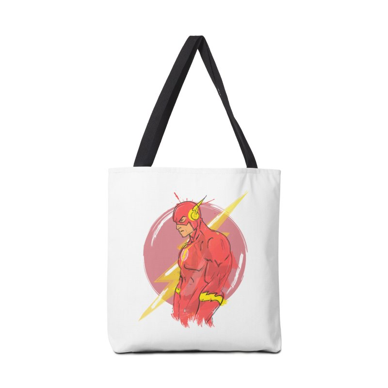 Flash is here! Accessories Bag by dreamer's Artist Shop