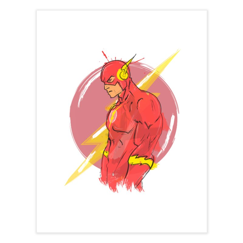 Flash is here! Home Fine Art Print by dreamer's Artist Shop