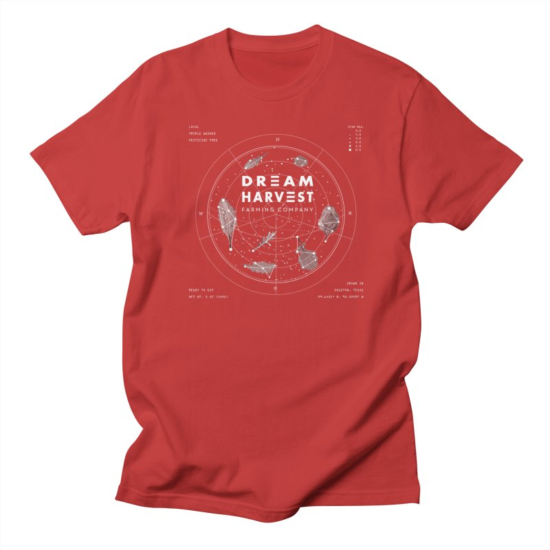 Leafy Constellation Men's Regular T-Shirt by dream harvest's Artist Shop