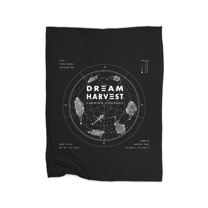 Leafy Constellation Home Blanket by dream harvest's Artist Shop