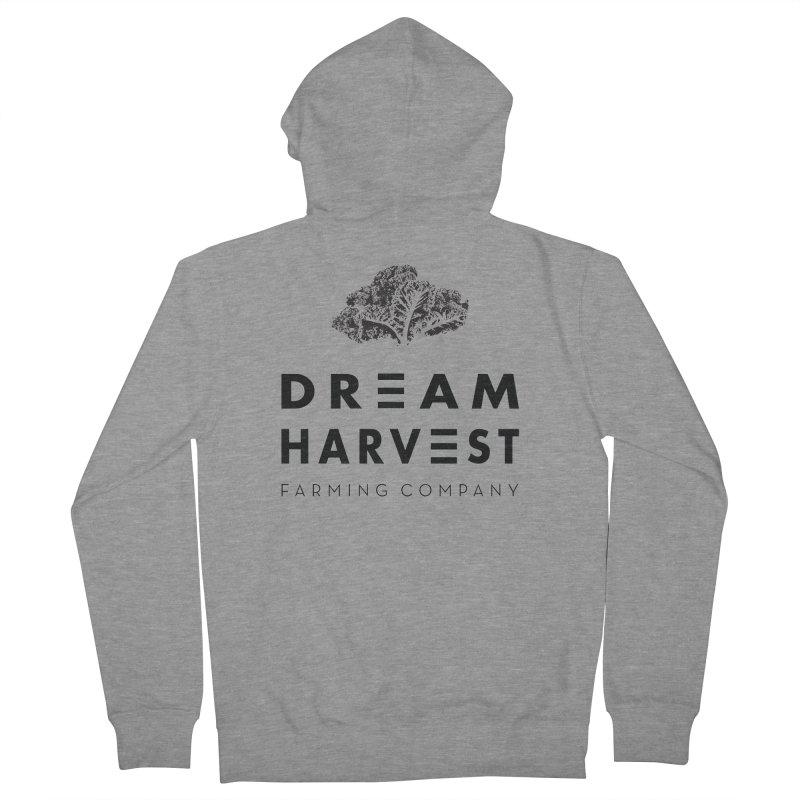 kale head Women's French Terry Zip-Up Hoody by dream harvest's Artist Shop