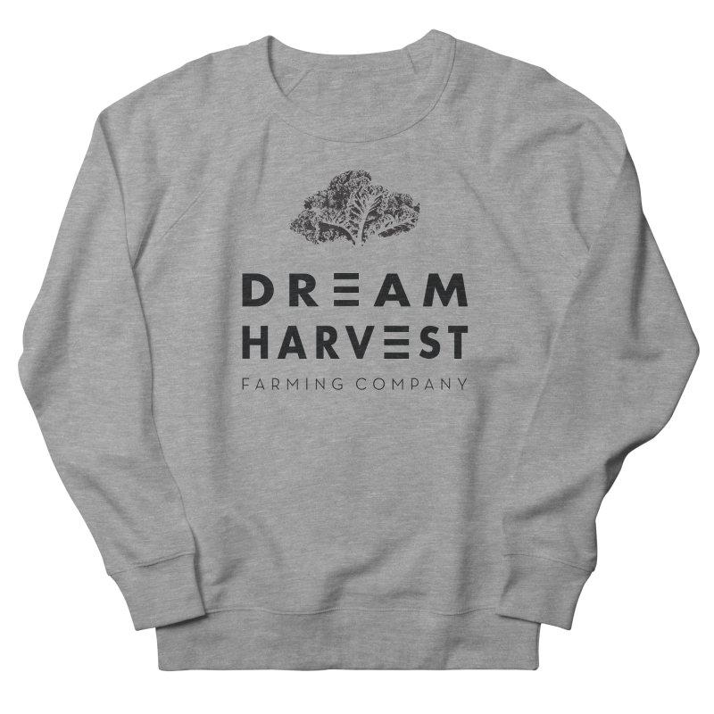 kale head Women's French Terry Sweatshirt by dream harvest's Artist Shop