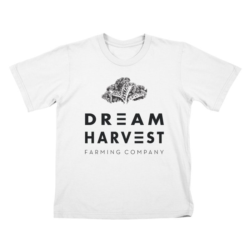 kale head Kids T-Shirt by dream harvest's Artist Shop