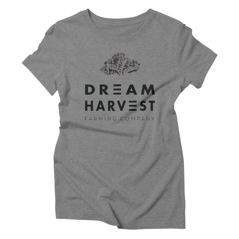 kale head Women's Triblend T-Shirt by dreamharvest's Artist Shop