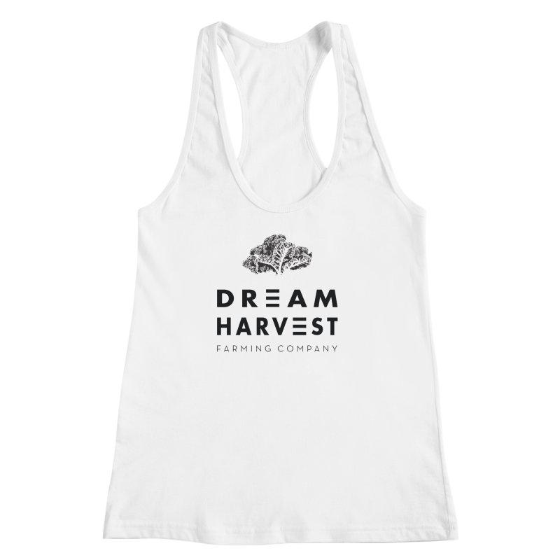 kale head Women's Racerback Tank by dreamharvest's Artist Shop