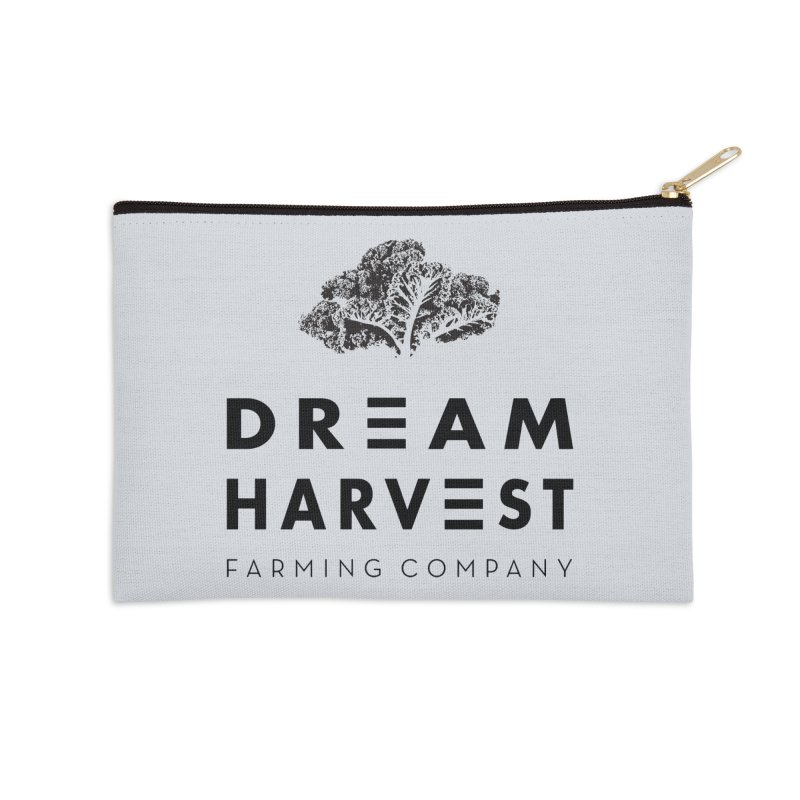 kale head Accessories Zip Pouch by dreamharvest's Artist Shop