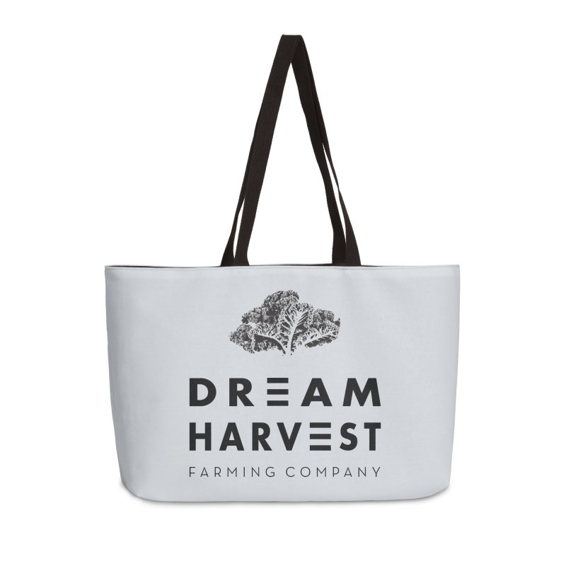 kale head in Weekender Bag by dreamharvest's Artist Shop