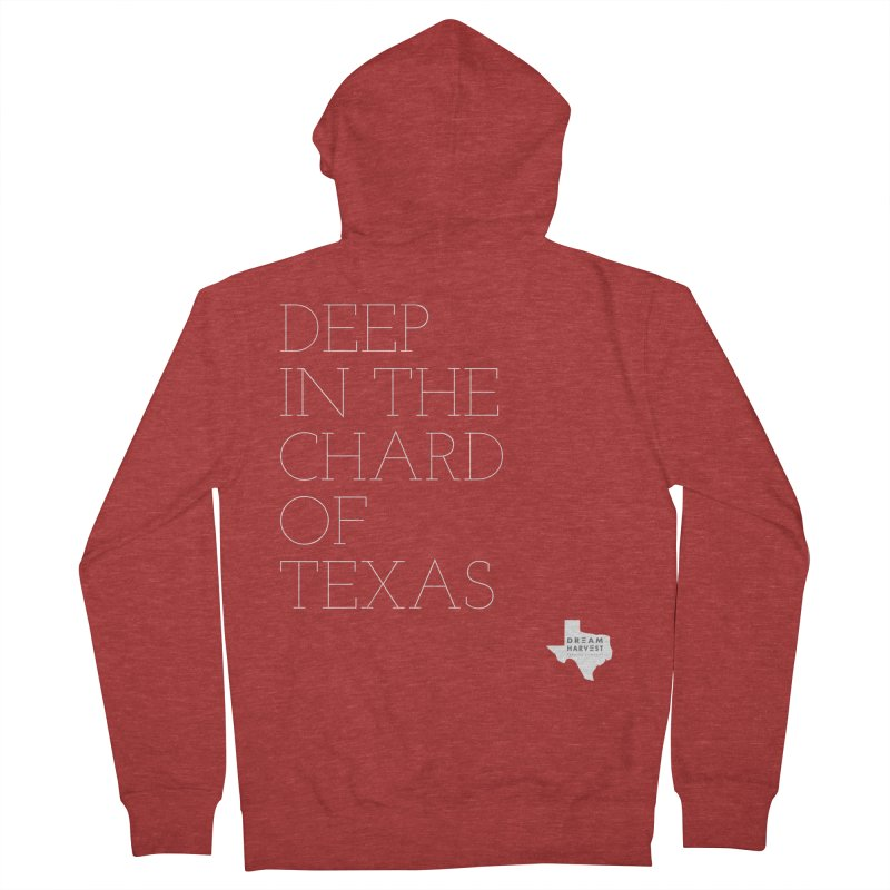 deep in the chard Men's French Terry Zip-Up Hoody by dreamharvest's Artist Shop