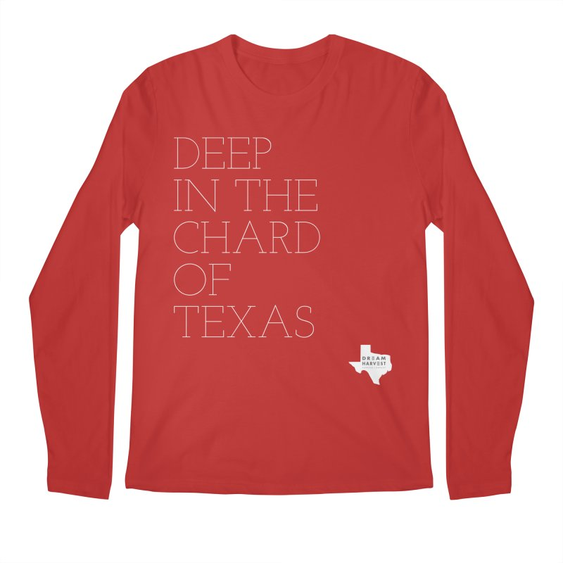 deep in the chard Men's Regular Longsleeve T-Shirt by dream harvest's Artist Shop