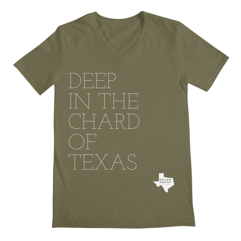 deep in the chard Men's V-Neck by dreamharvest's Artist Shop